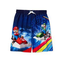 Nintendo Mario Kart Boys Swim Trunks, Sizes 4-18 | Walmart (US)