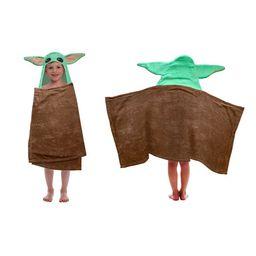 Mandalorian The Child Baby Yoda Hooded Bath Towel | Walmart (US)