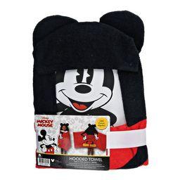 Disney Mickey Mouse Hooded Bath Towel | Walmart (US)