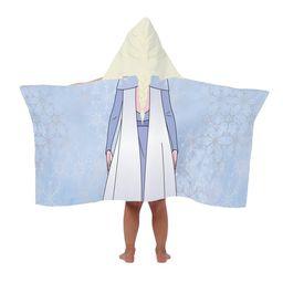 Disney Frozen 2 Elsa Hooded Bath Towel | Walmart (US)