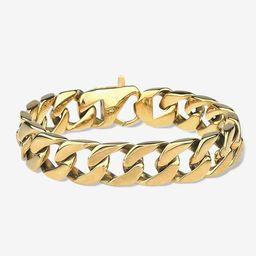 Chunky Heirloom Gold Chain Bracelet | Victoria Emerson