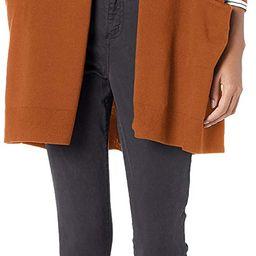 Amazon Brand - Daily Ritual Women's Fine Gauge Stretch Long-Sleeve Cardigan Sweater | Amazon (US)