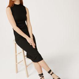 Free Assembly Women's Sleeveless Mock Neck Midi Dress | Walmart (US)