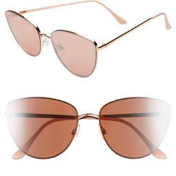 Rimless Cat Eye Sunglasses   Nordstrom