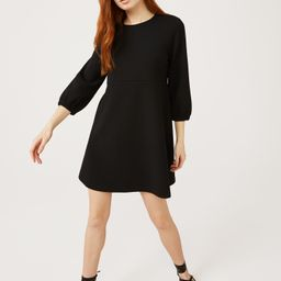 Free Assembly Women's Swing Dress with 3/4th-Sleeves   Walmart (US)