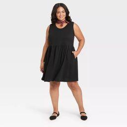Women's Sleeveless Babydoll Dress - Universal Thread™ | Target