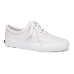 Keds Women's Sneakers WHITE - White Anchor Leather Sneaker - Women   Zulily