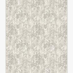 Watercolor Herringbone Cream Rug | Ruggable