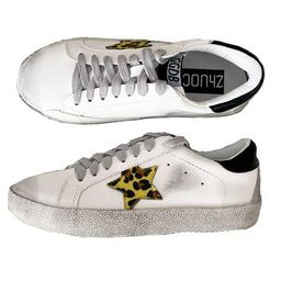 'Vanessa' Sequinned Star distressed Sneakers (6 Colors)   Goodnight Macaroon