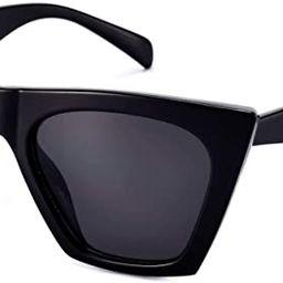 Mosanana Square Cateye Sunglasses for Women Fashion Trendy Style MS51801 | Amazon (US)