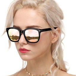 Myiaur Fashion Sunglasses for Women Polarized Driving Anti Glare 100% UV Protection Stylish Desig... | Amazon (US)