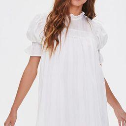 Ruffled Puff Sleeve Dress | Forever 21 (US)
