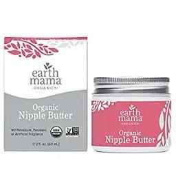 Organic Nipple Butter Breastfeeding Cream by Earth Mama | Lanolin-free, Safe for Nursing & Dry Sk... | Amazon (US)