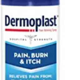 Dermoplast Pain, Burn & Itch Spray, Pain Relief Spray for Minor Cuts, Burns and Bug Bites, 2.75 o... | Amazon (US)