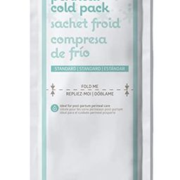 """Medline MDS138055 Standard Perineal Cold Packs, 4.5"""" x 14.25"""", Pack of 24, Green 