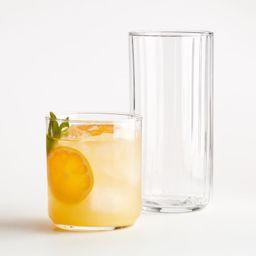 Felton Drinking Glasses | Crate and Barrel | Crate & Barrel