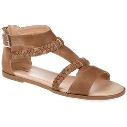 Brinley Co. Womens Comfort T-strap Braided Sandal   Walmart (US)