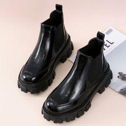 Minimalist Wide Fit Chelsea Boots | SHEIN