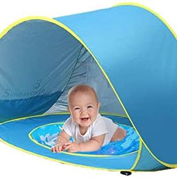 Sunba Youth Baby Beach Tent, Baby Pool Tent, UV Protection Sun Shelters   Amazon (US)