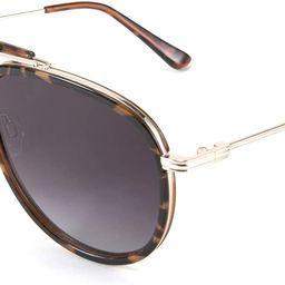 Classic Polarized Aviator Sunglasses Men Women Metal Frame B2700 | Amazon (US)