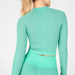 Whitney Seamless Cropped Long-Sleeve Top | Fabletics