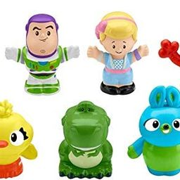 Fisher-Price Disney Pixar Toy Story 4, 7 Friends Pack by Little People | Amazon (US)