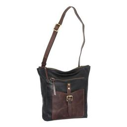 "Women's Nino Bossi Ginger Leather Crossbody Bag 9"""" x 3"""" x 11   Walmart (US)"