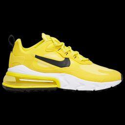 Nike Air Max 270 React - Women's Running Shoes - Opti Yellow / Black / Dynamic Yellow, Size 8.0   Eastbay