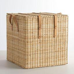 Austin Lidded Chest Basket, Natural | Pottery Barn (US)