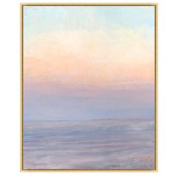 Dawn at Sea Hand Embellished Framed Canvas Print, 26 x 32 | Pottery Barn (US)