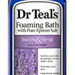 Dr Teal's Foaming Bath with Pure Epsom Salt, Soothe & Sleep with Lavender, 34 Ounces, purple, 303... | Amazon (US)