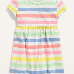 Fit & Flare Jersey Dress for Toddler Girls | Old Navy (US)