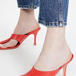 Asymmetric Mary Mules   Shopbop