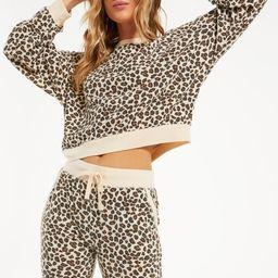 Brushed Leopard Pullover   Z Supply