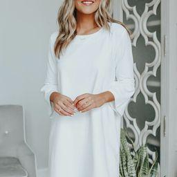 Extra Sweet White Shift Dress | Magnolia Boutique