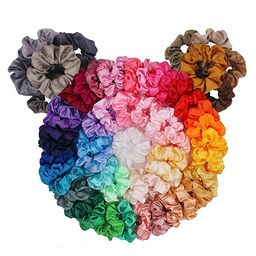60 Pack Hair Scrunchies, BeeVines Satin Silk Scrunchies for Hair, Silky Curly Hair Accessories fo...   Amazon (US)