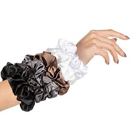 HARLOW Designer Silk Scrunchies for hair, Big Scrunchies Satin Packs for VSCO stuff, Hair Scrunch...   Amazon (US)