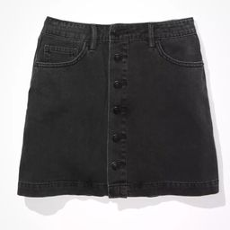 AE Super High-Waisted A-Line Skirt | American Eagle Outfitters (US & CA)