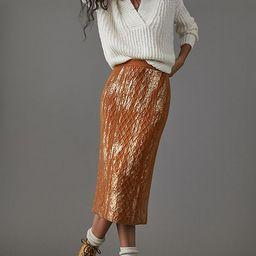 Rue Shimmer Sweater Midi Skirt   Anthropologie (US)