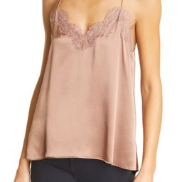 The Racer Silk Charmeuse Camisole   Nordstrom