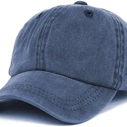 Trendy Apparel Shop Infant Size Unstructured Pigment Dyed Washed Baseball Cap   Amazon (US)