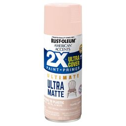 Rustic Pink American Accents 2X Ultra Cover Ultra Matte Spray Paint, 12 oz   Walmart (US)