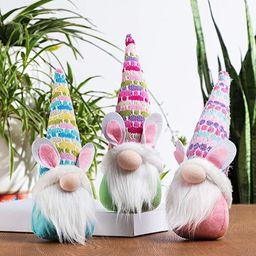 GMOEGEFT Handmade Easter Bunny Gnome, Swedish Gnome Plush Scandinavian Tomte, Spring Rabbit Holid...   Amazon (US)