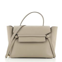 Belt Bag Textured Leather Mini   Rebag