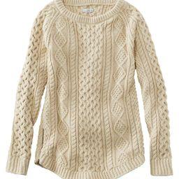 Women's Signature Cotton Fisherman Tunic Sweater   L.L. Bean