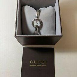 GUCCI 1400L Quartz Shell Dial Ladies Watch Swiss Made | eBay US