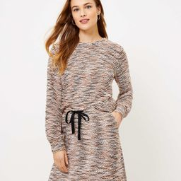 Boucle Sweatshirt | LOFT