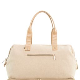 Beis The Weekend Patent Travel Tote - Beige | Nordstrom
