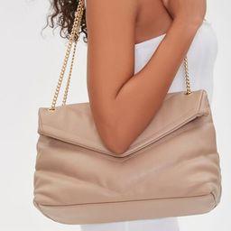 Flap-Top Shoulder Bag   Forever 21 (US)