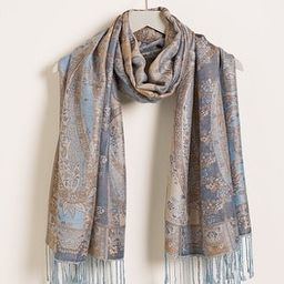 Paisley-Print Oblong Scarf   Chico's